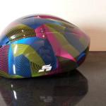 スピードスケートショートトラック用ヘルメットの新商品